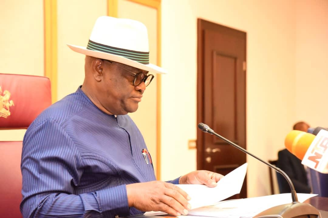 Governor Nyesom Wike Signs Executive Order To Enforce Ban Of IPOB in Rivers