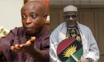 Biafra: Nnamdi Kanu Is Not Working For Biafra But FG - Uwazuruike Blast
