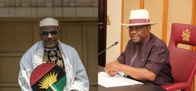 Nnamdi Kanu Places 100Million Naira On Endowment Of Governor Nyesom Wike