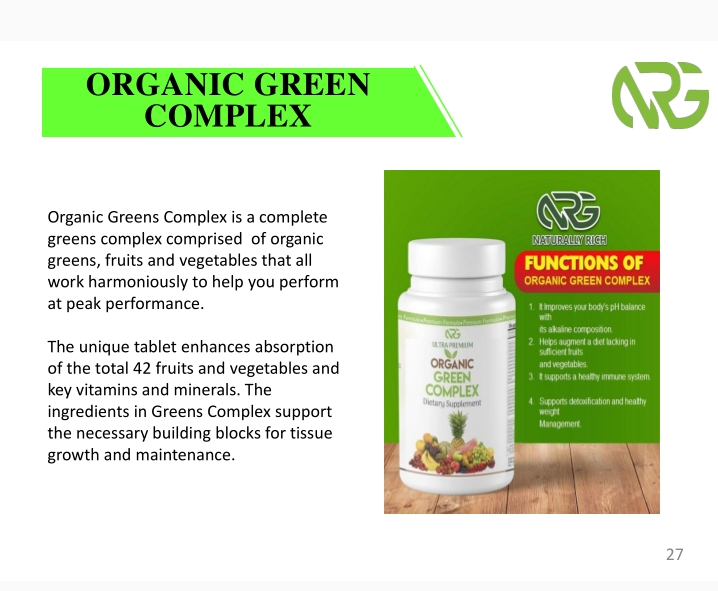 How To Order Natural Rich Global Limited Products/Health Supplements