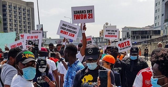 #EndSARS: Fresh Protest For Freezing Of Protesters Accounts