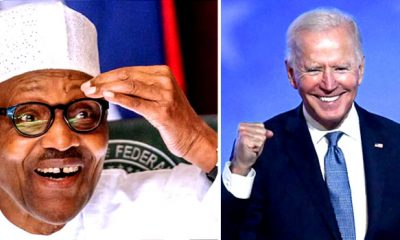 US election 2020: I Am Excited – Buhari Congratulates Joe Biden