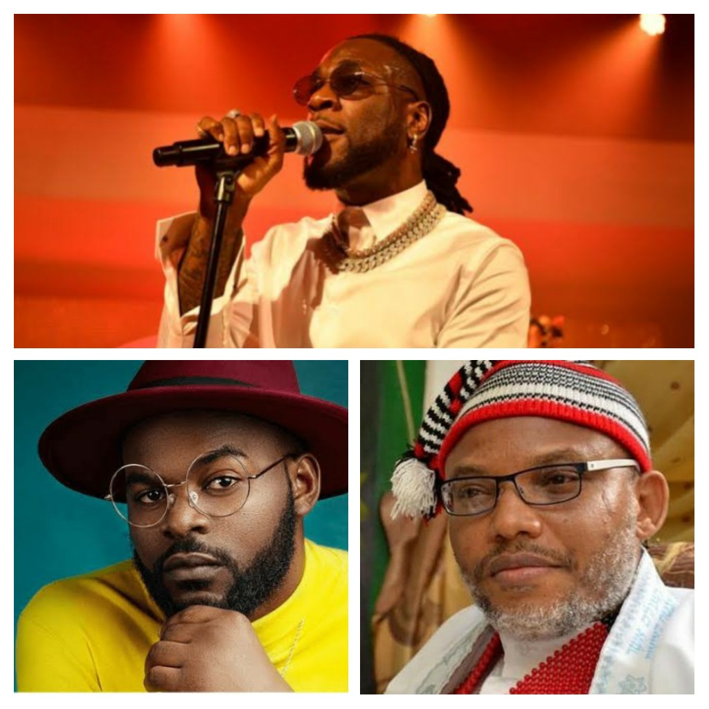 Nnamdi Kanu, Falz, Burna Boy, Others Accused Of Using Fake News To Create Anarchy