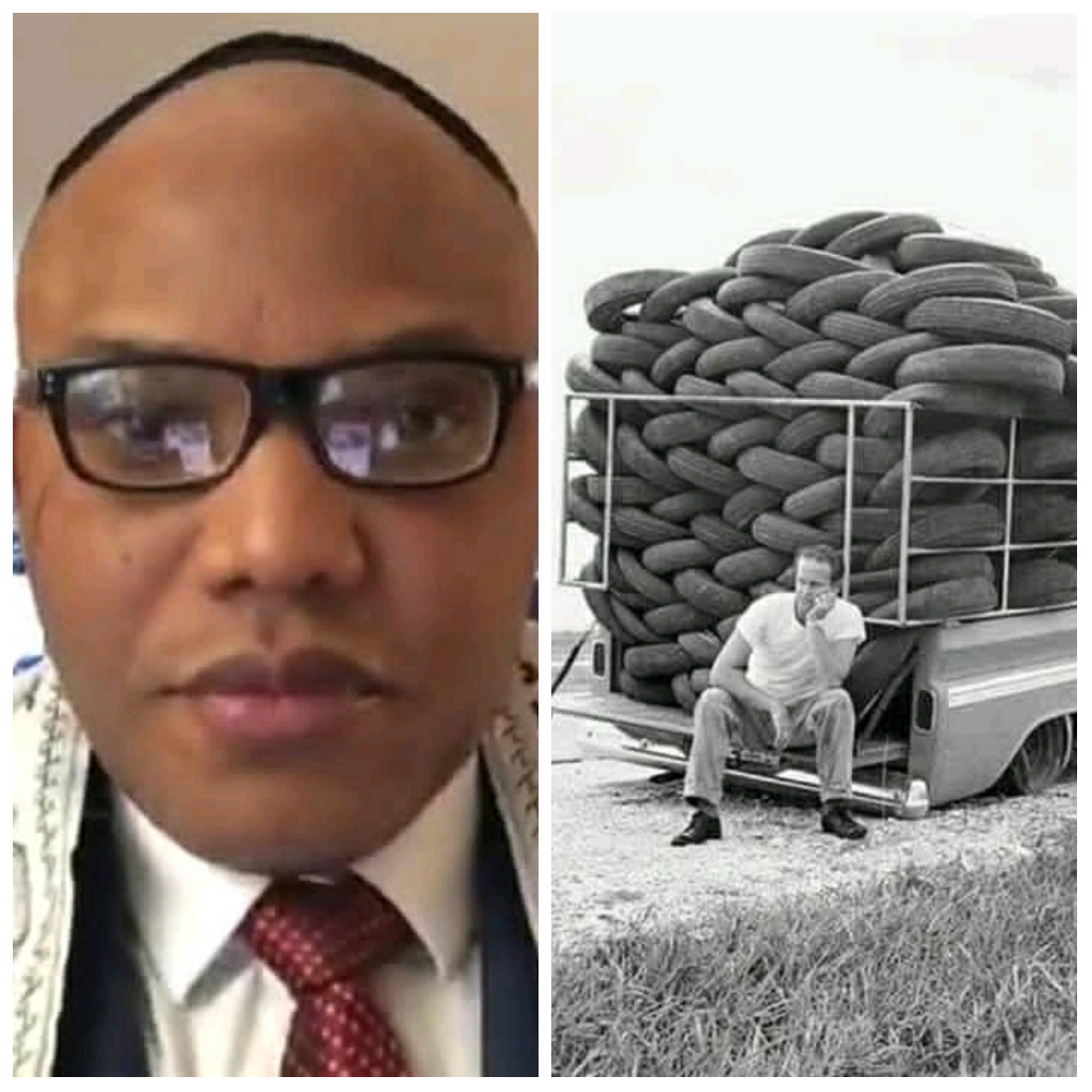 Nnamdi Kanu - Nigeria Is The Only Thing Created By A White Man That Has No Meaning