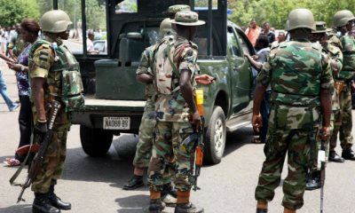 Nigerian Army Officers Arrive Lagos Judicial Panel Venue, To Show Lekki Shooting Footage