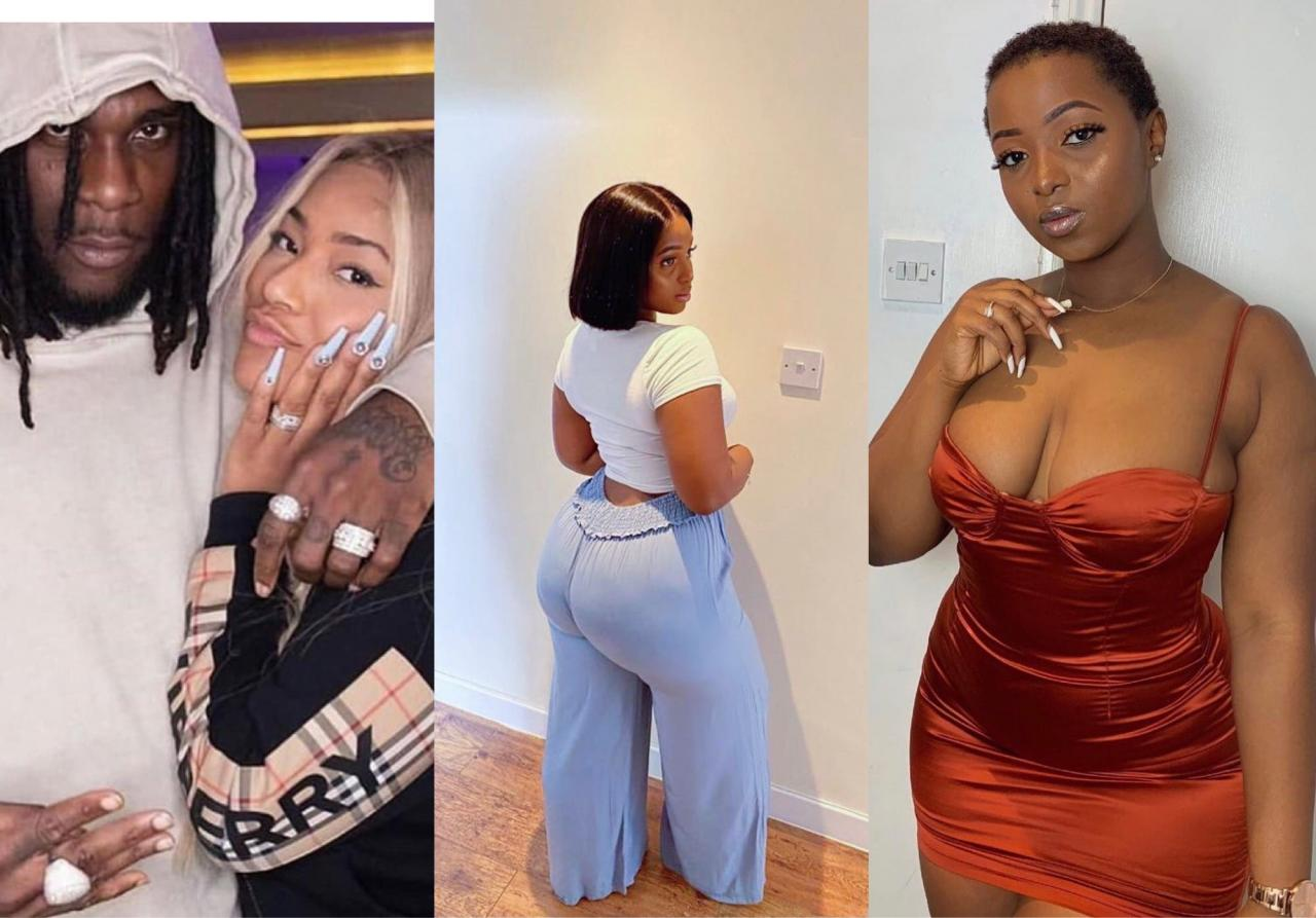 Burna Boy's Alleged Side Chick, JoPearl And Stefflon Don 'Fights' Over Relationship Rumour