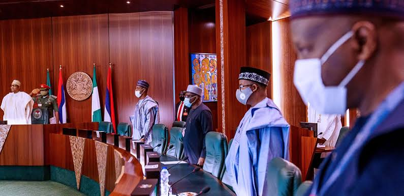 Details Of Buhari's Meeting With 36 Governors on Insecurity Revealed