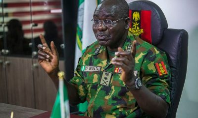 Buratai - Obasanjo Almost Retired Me 21 Years Ago As Major
