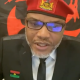 You Have No Right To Decide Who Stays In Nigeria - Nnamdi Kanu Fires FG