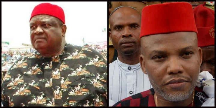 Chief Emmanuel Iwuanyanwu Says, Nnamdi Kanu, IPOB Leader, Is Leading Biafran's The Wrong Way