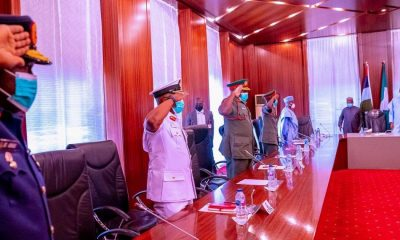President Buhari Seeks Confirmation Of New Service Chiefs