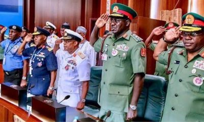 BREAKING: President Buhari Finally Sacks Buratai, Other Service Chiefs, Appoints Attahiru, Irabor