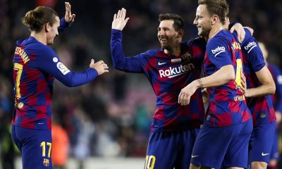 European Round-Up: Lionel Messi On Target In Barcelona Win; Bayern Munich Back To Winning Ways