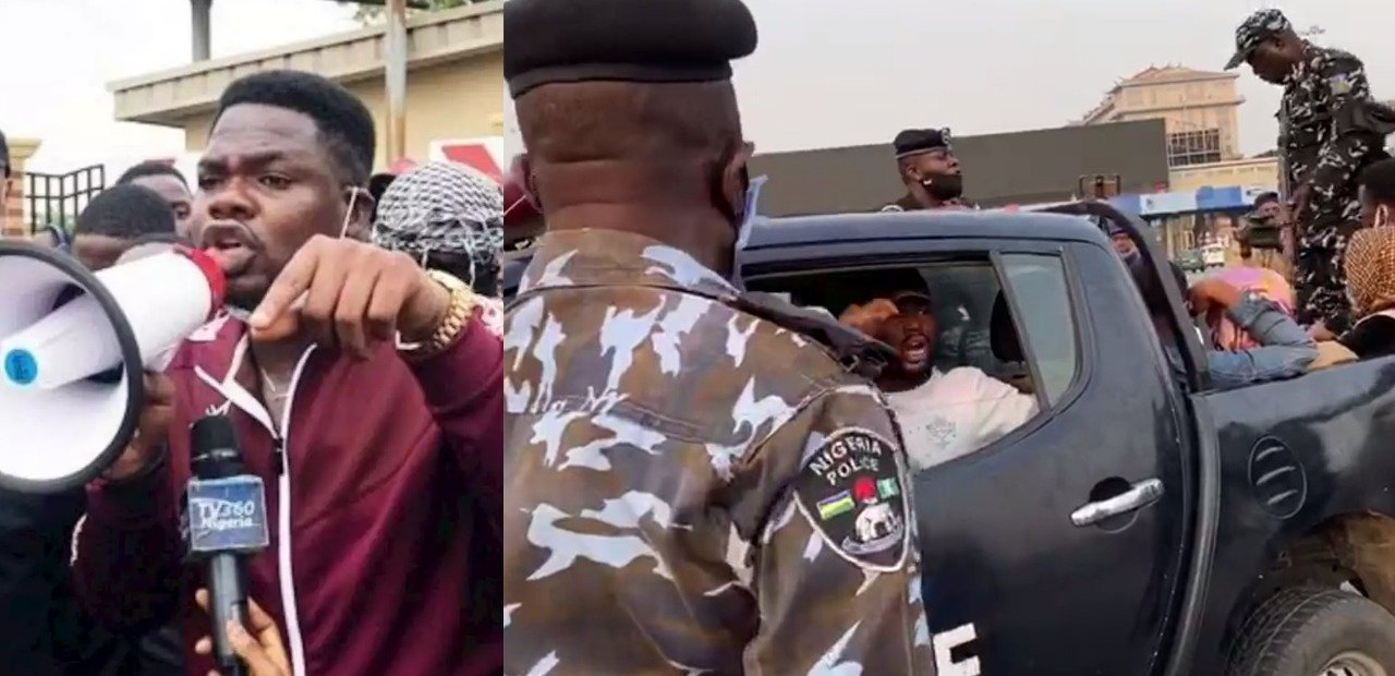 Mr Macaroni, End SARS Protesters Arrested For Conspiracy – Police