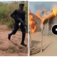Eastern Security Network Burns Down More Fulani Herdsmen Settlement In Ebonyi, Overpowers Police (Video)
