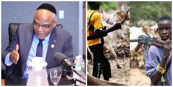 ESN: No More More Cattles In Biafra Land From FEB 13th - Nnamdi Kanu