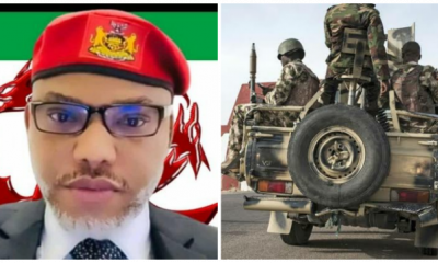 BiafraLand: We'll Come After You – Nnamdi Kanu Warns Nigerian Army