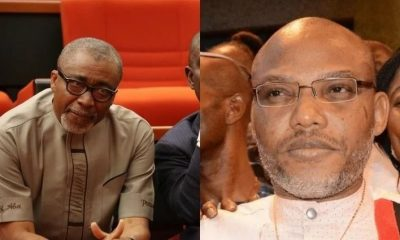 Nnamdi Kanu Is Not A Criminal, He Is Only Demanding For A New Country – Senator Abaribe