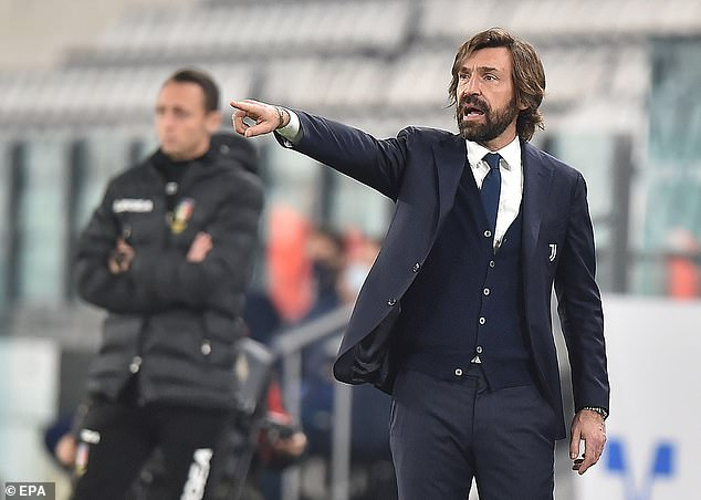 Serie A: Andrea Pirlo blames his players after 1-1 draw with Verona
