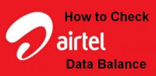 How To Check Airtel Data Balance
