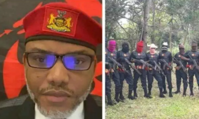 Secret Revealed: Nnamdi Kanu Reveal Those Behind Bank Robbery, Planting Of Biafra Flag