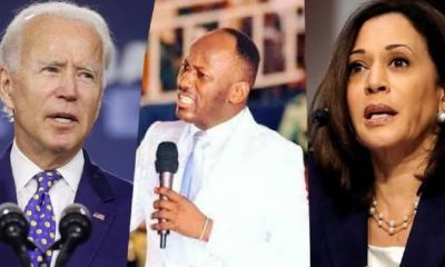 Apostle Suleman - Kamala Harris Is America's President Not Joe Biden