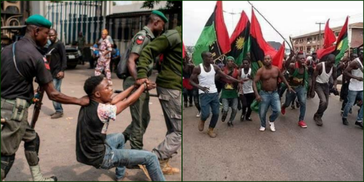 IPOB Are the Ones Killing Us, We Have Arrested 5 of Them — Police Says as They Rejoice