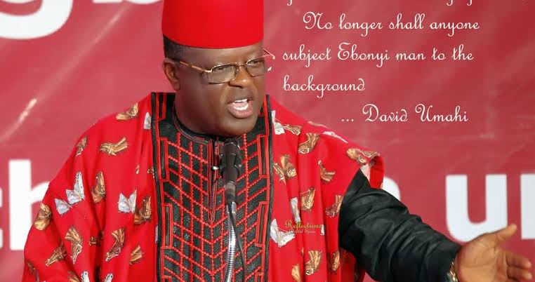 Why South East People Support Eastern Security Network (ESN) – Gov. Umahi