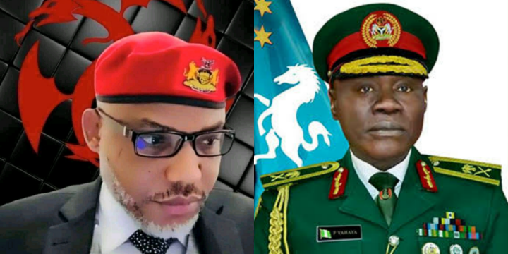 Nnamdi Kanu Reacts To New Chief Of Army Staff Statement About The Nigerian Army