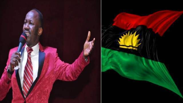 Stop Fighting Biafrans, You Can't Defeat Them Because They Have God By Their Side — Apostle Suleman Warns Buhari