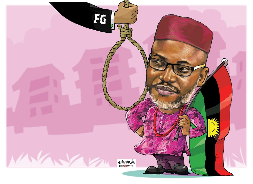 Nnamdi Kanu's N5 Billion Suit: FG Fails To Appear In Court, Case Adjourned