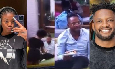 BBNaija: What happened after Angel offered Cross food amidst ignoring him